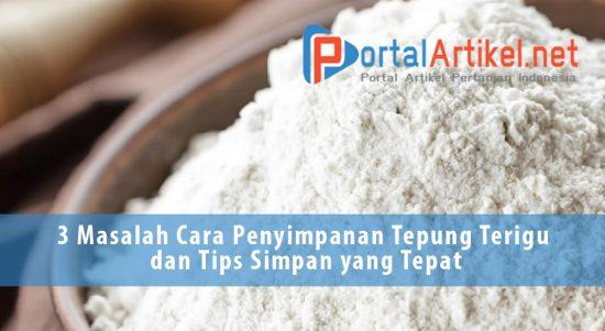 3 Masalah Cara Penyimpanan Tepung Terigu dan Tips Simpan yang Tepat